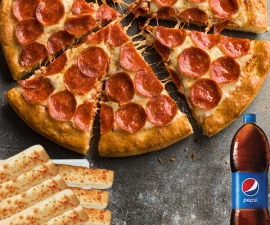 Fiesta Clásica Pepperoni Pan - Pizza Hut