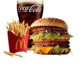 Big Mac Doble en Combo- McDonalds