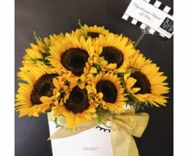 Florencia Sunflower Box - RSVP Designs